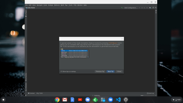 Setting Up Non-Debian Linux Packages on Chrome OS (IntelliJ IDEA CE and Blender)